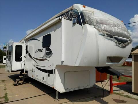 2011 Keystone ALPINE 3640 for sale at Texas RV Trader in Cresson TX