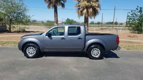 2017 Nissan Frontier for sale at Ryan Richardson Motor Company in Alamogordo NM