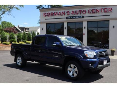 2012 Toyota Tacoma for sale at DORMANS AUTO CENTER OF SEEKONK in Seekonk MA
