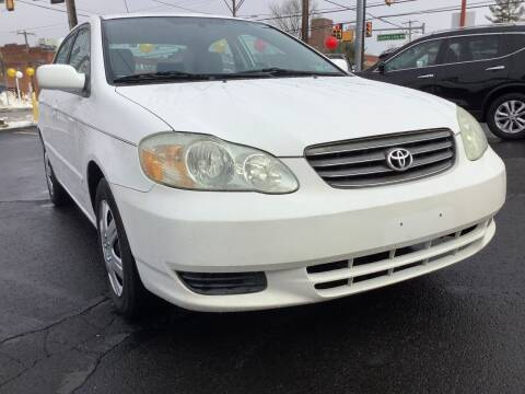 2003 Toyota Corolla for sale at Active Auto Sales in Hatboro PA