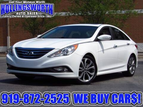 2014 Hyundai Sonata for sale at Hollingsworth Auto Sales in Raleigh NC