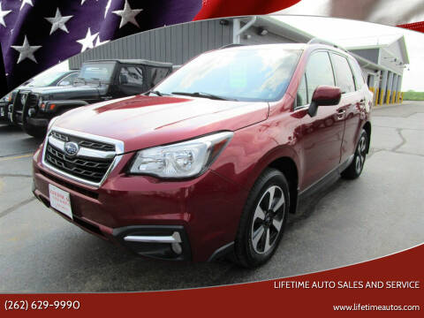 2017 Subaru Forester for sale at Lifetime Auto Sales and Service in West Bend WI