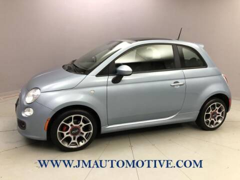 2013 FIAT 500 for sale at J & M Automotive in Naugatuck CT