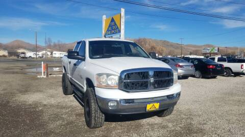 2006 Dodge Ram Pickup 2500 for sale at Auto Depot in Carson City NV