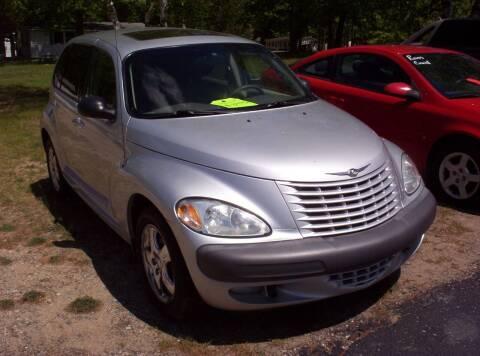 2001 Chrysler PT Cruiser for sale at LAKESIDE MOTORS LLC in Houghton Lake MI