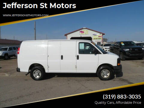 2010 Chevrolet Express Cargo for sale at Jefferson St Motors in Waterloo IA