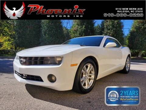 2013 Chevrolet Camaro for sale at Phoenix Motors Inc in Raleigh NC