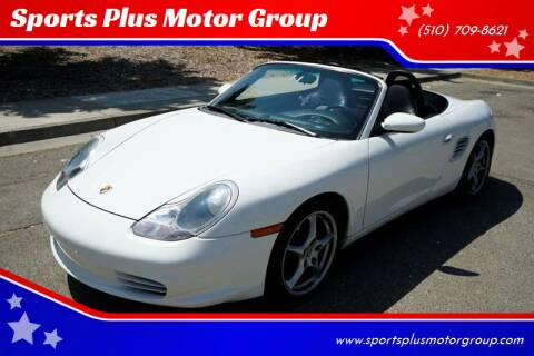 2004 Porsche Boxster for sale at Sports Plus Motor Group LLC in Sunnyvale CA