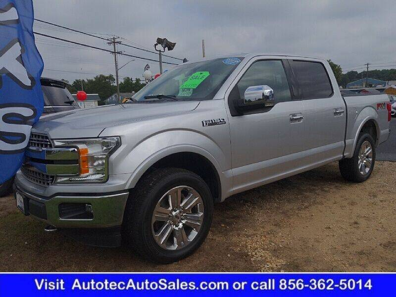 2019 Ford F-150 for sale at Autotec Auto Sales in Vineland NJ