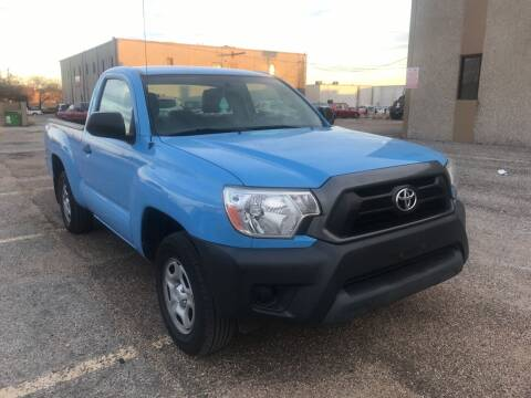 2014 Toyota Tacoma for sale at BJ International Auto LLC in Dallas TX