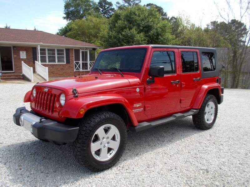 2010 Jeep Wrangler Unlimited for sale at Carolina Auto Connection & Motorsports in Spartanburg SC
