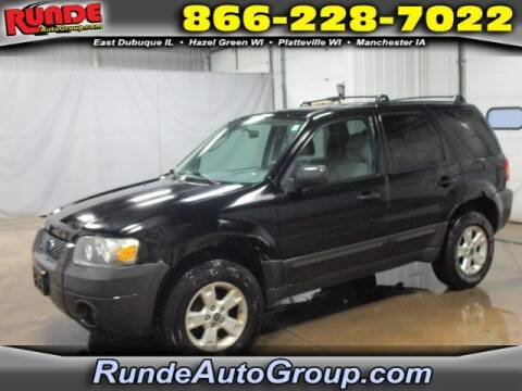 2006 Ford Escape for sale at Runde Chevrolet in East Dubuque IL