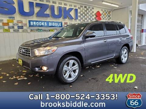 2010 Toyota Highlander for sale at BROOKS BIDDLE AUTOMOTIVE in Bothell WA