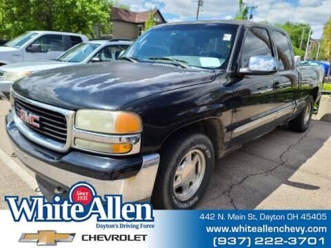2002 GMC Sierra 1500 for sale at WHITE-ALLEN CHEVROLET in Dayton OH