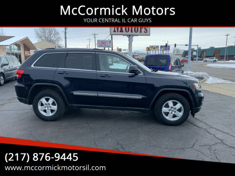 2011 Jeep Grand Cherokee for sale at McCormick Motors in Decatur IL