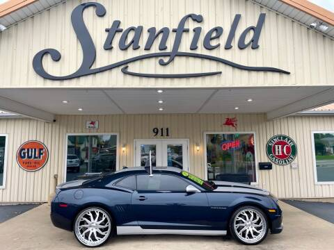2013 Chevrolet Camaro for sale at Stanfield Auto Sales in Greenfield IN