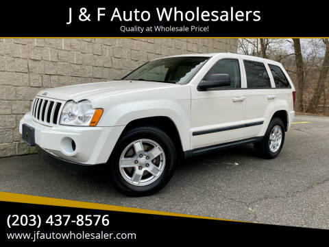 2007 Jeep Grand Cherokee for sale at J & F Auto Wholesalers in Waterbury CT