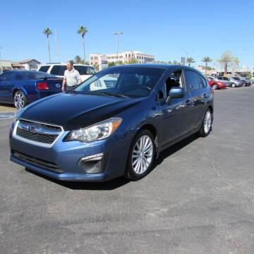 2012 Subaru Impreza for sale at Charlie Cheap Car in Las Vegas NV