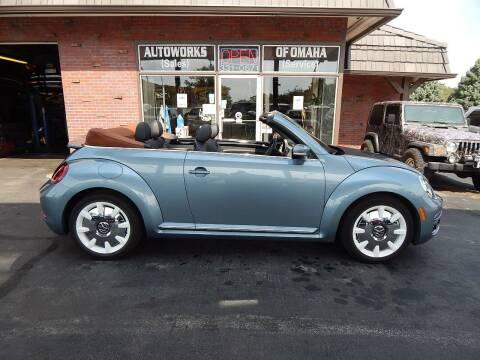 2019 Volkswagen Beetle Convertible for sale at AUTOWORKS OF OMAHA INC in Omaha NE