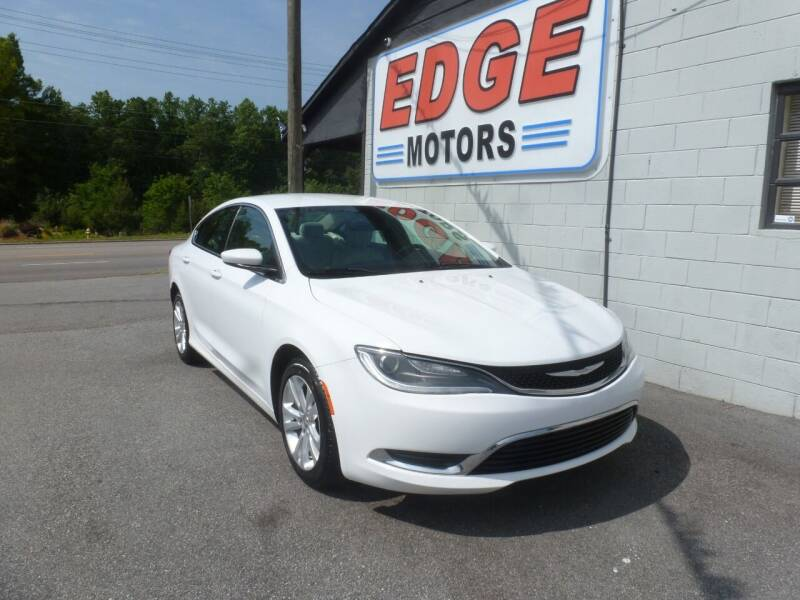 2016 Chrysler 200 for sale at Edge Motors in Mooresville NC