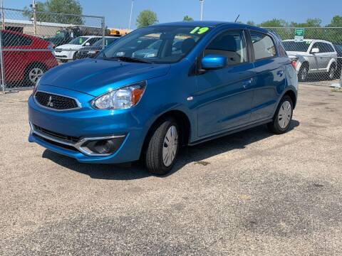 2019 Mitsubishi Mirage for sale at HIGHLINE AUTO LLC in Kenosha WI