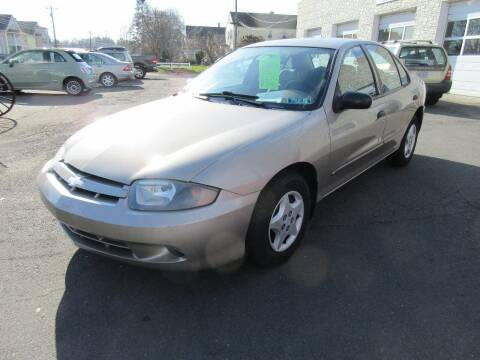 2004 Chevrolet Cavalier for sale at BOB & PENNY'S AUTOS in Plainville CT