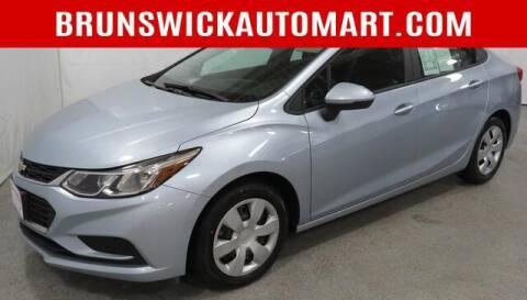2017 Chevrolet Cruze for sale at Brunswick Auto Mart in Brunswick OH
