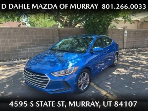 2017 Hyundai Elantra for sale at D DAHLE MAZDA OF MURRAY in Salt Lake City UT