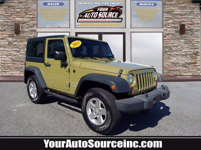 2013 Jeep Wrangler for sale at Your Auto Source in York PA