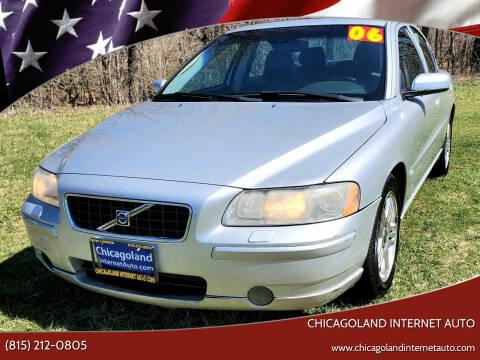 2006 Volvo S60 for sale at Chicagoland Internet Auto - 410 N Vine St New Lenox IL, 60451 in New Lenox IL