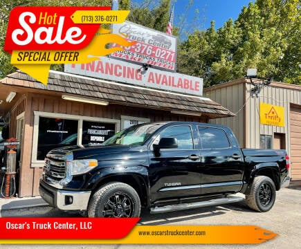 2015 Toyota Tundra for sale at Oscar's Truck Center, LLC in Houston TX