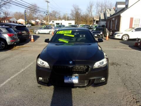 2013 BMW 5 Series for sale at Balic Autos Inc in Lanham MD