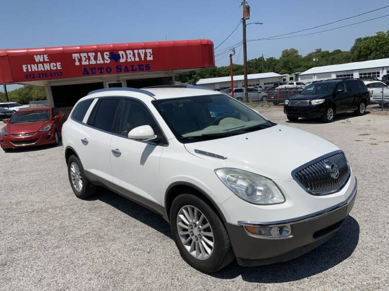 2012 Buick Enclave for sale at Texas Drive LLC in Garland TX