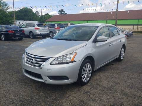 2015 Nissan Sentra for sale at L&M Auto Import in Gastonia NC