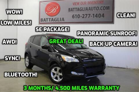 2014 Ford Escape for sale at Battaglia Auto Sales in Plymouth Meeting PA