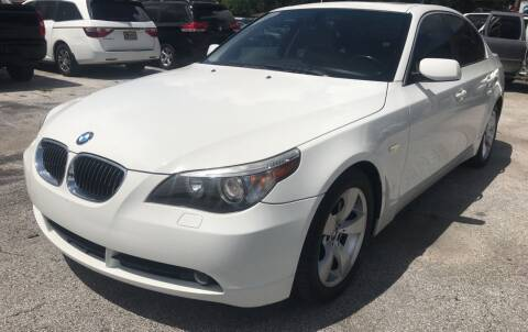 2007 BMW 5 Series for sale at Budget Motorcars in Tampa FL