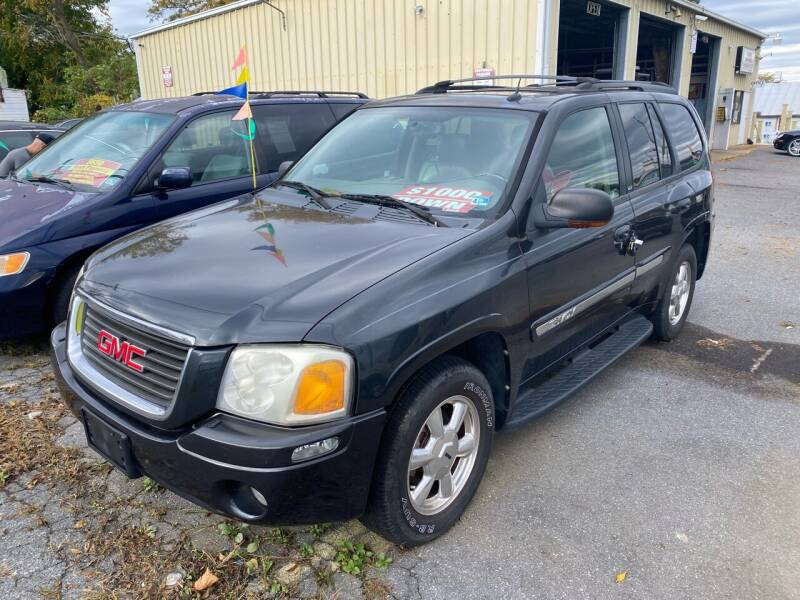 2004 GMC Envoy for sale at Boris Auto Sales & Repairs in Harrisonburg VA