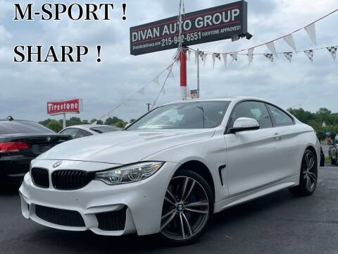 2016 BMW 4 Series for sale at Divan Auto Group in Feasterville Trevose PA