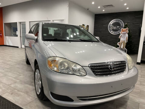 2007 Toyota Corolla for sale at Evolution Autos in Whiteland IN
