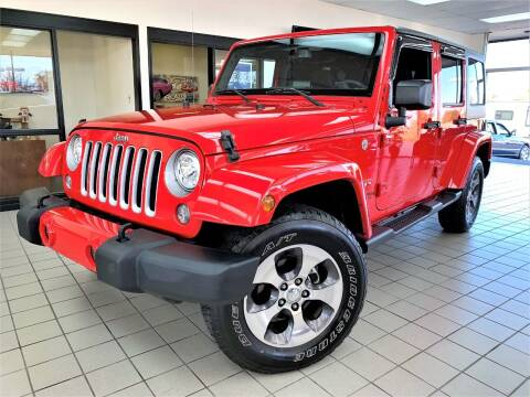 2018 Jeep Wrangler JK Unlimited for sale at SAINT CHARLES MOTORCARS in Saint Charles IL