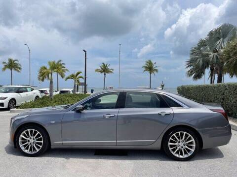 2018 Cadillac CT6 for sale at Niles Sales and Service in Key West FL