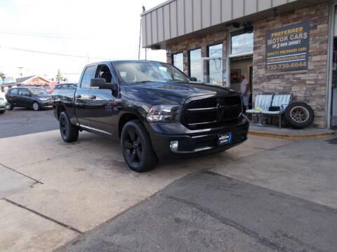2018 RAM Ram Pickup 1500 for sale at Preferred Motor Cars of New Jersey in Keyport NJ