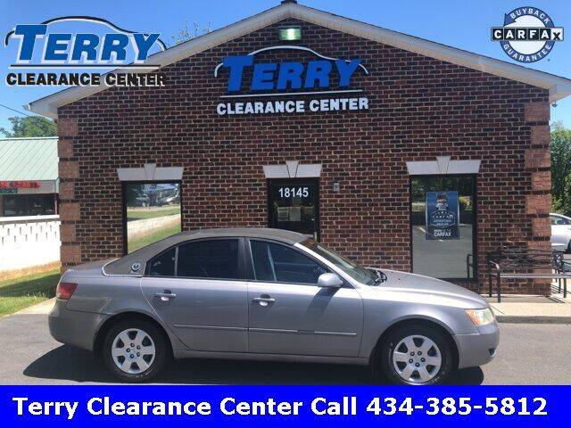 2007 Hyundai Sonata for sale at Terry Clearance Center in Lynchburg VA
