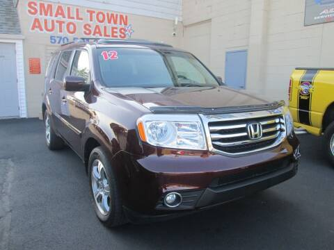 2012 Honda Pilot for sale at Small Town Auto Sales in Hazleton PA