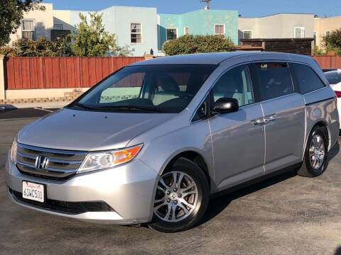2012 Honda Odyssey for sale at CITY MOTOR SALES in San Francisco CA