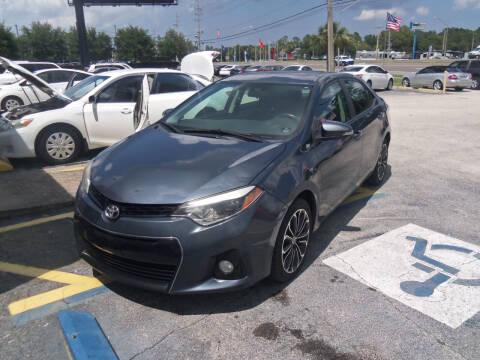 2015 Toyota Corolla for sale at ORANGE PARK AUTO in Jacksonville FL