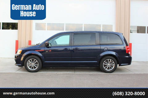 2017 Dodge Grand Caravan for sale at German Auto House in Fitchburg WI