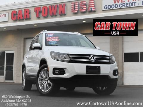 2015 Volkswagen Tiguan for sale at Car Town USA in Attleboro MA
