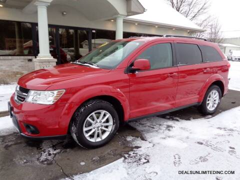2015 Dodge Journey for sale at DEALS UNLIMITED INC in Portage MI
