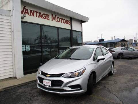 2018 Chevrolet Cruze for sale at Vantage Motors LLC in Raytown MO